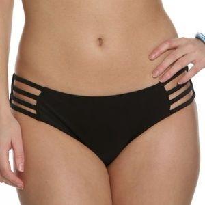 H&M Black Bikini Bottoms with Strappy Sides 6